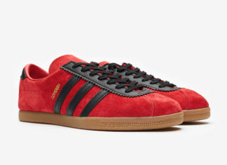 adidas City Series London Red Suede EE5723 Release Date