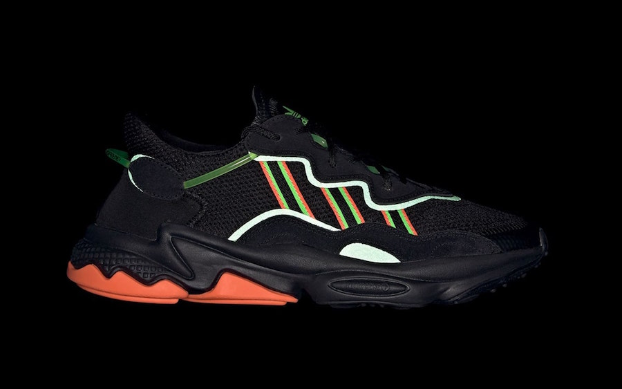 adidas Ozweego Black Orange Green EE5696 Release Date