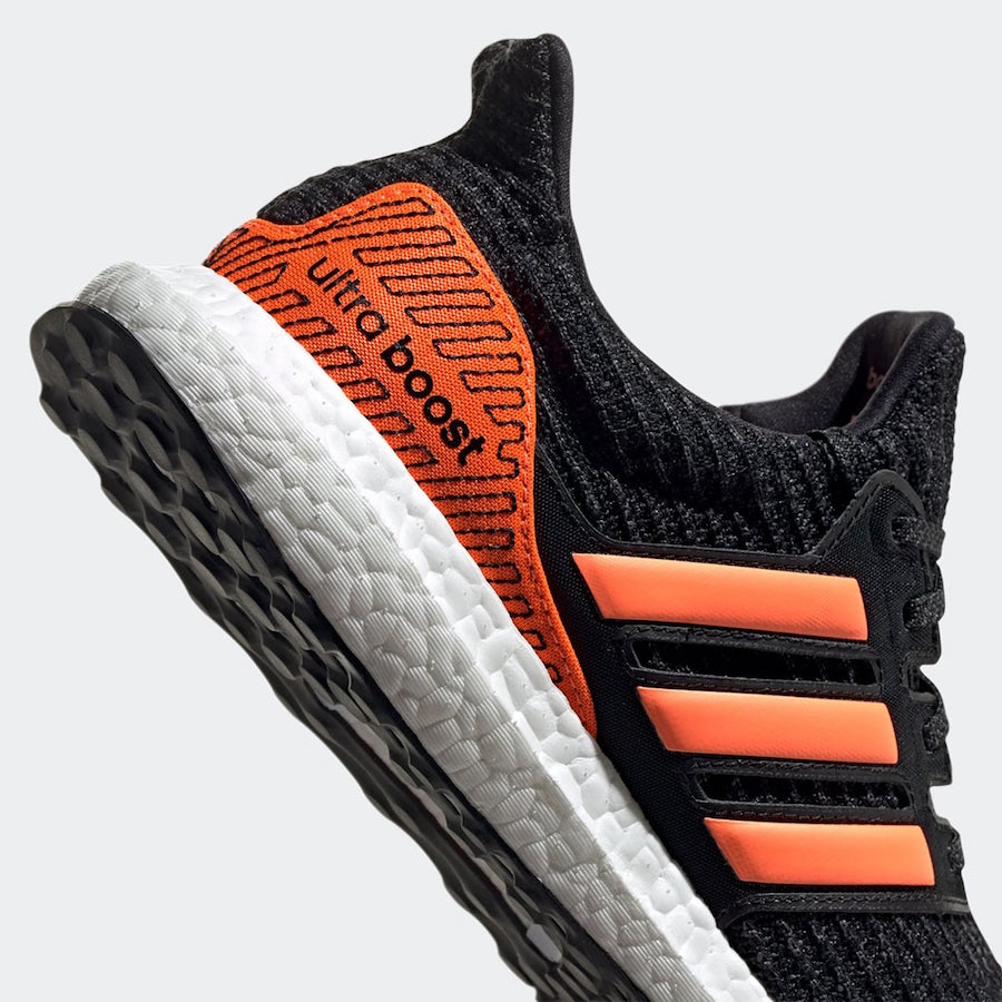 adidas Ultra Boost Black Solar Orange EH1423 Release Date