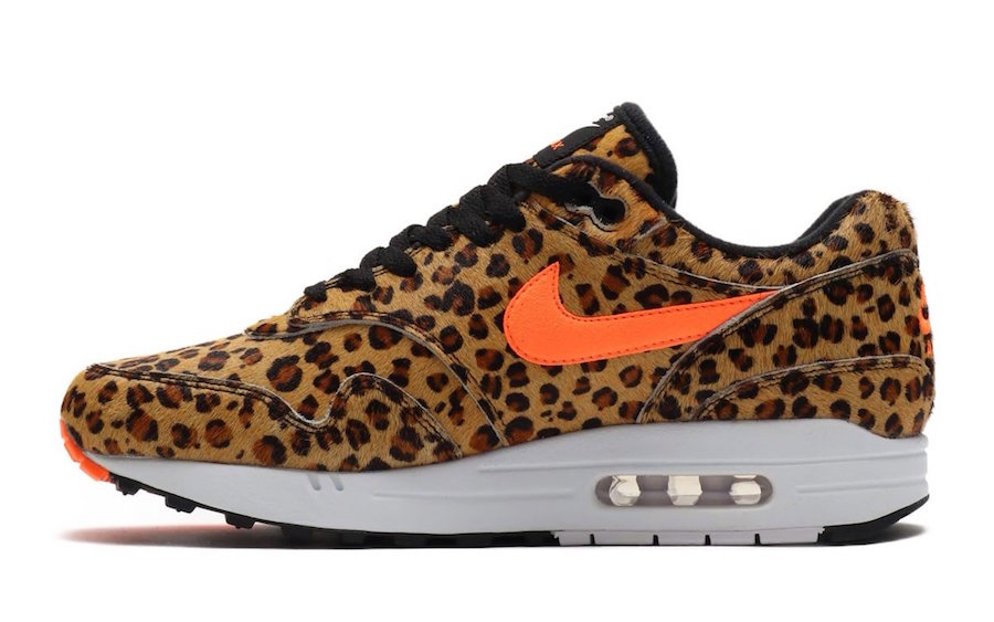 atmos Nike Air Max 1 DLX Animal 3.0 Pack Leopard AQ0928-901 Release Date