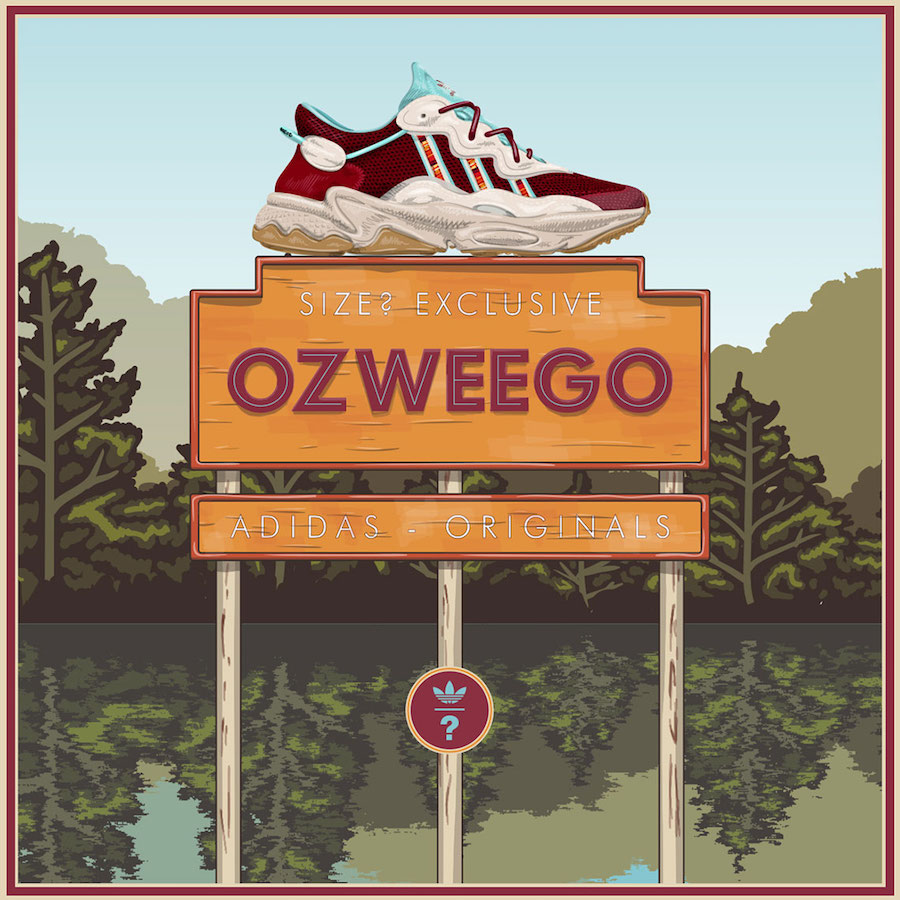 size adidas Ozweego Release Date