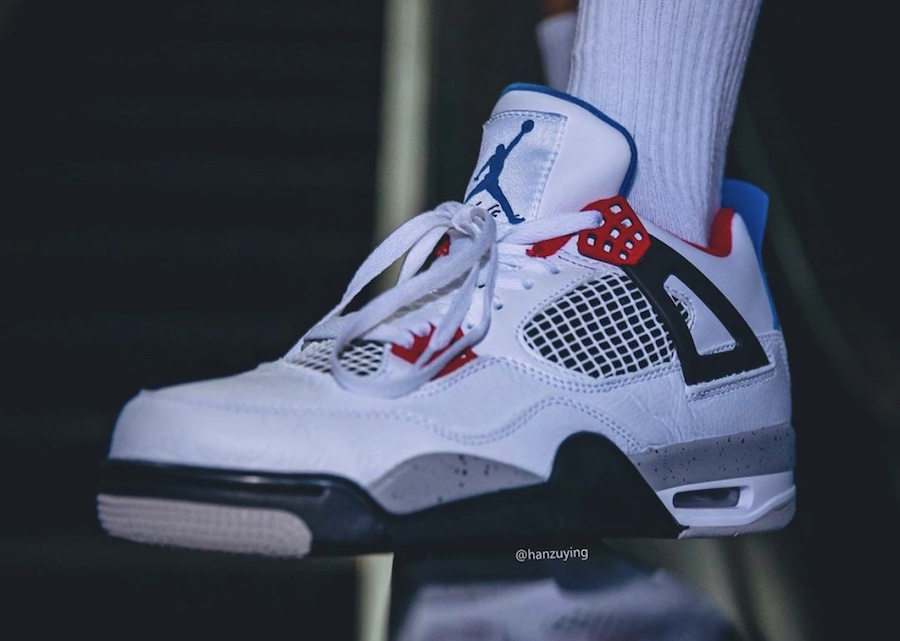 Air Jordan 4 What The CI1184-146 2019 Release Date Price On-Feet