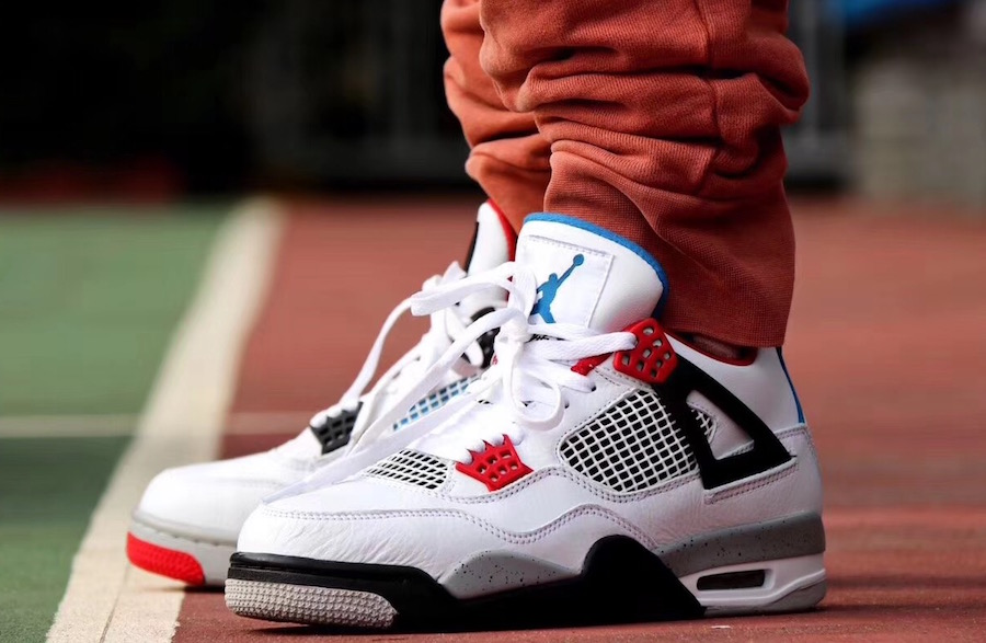 Air Jordan 4 What The On-Feet CI1184-146 Release Date
