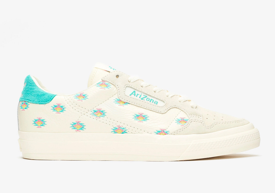 AriZona Ice Tea x adidas Continental Vulc FV2714 Release Date