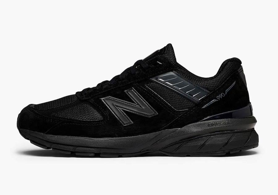 New Balance 990v5 Triple Black Release Date