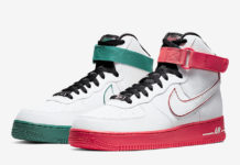 Nike Air Force 1 High China Hoop Dreams CK4581-110 Release Date