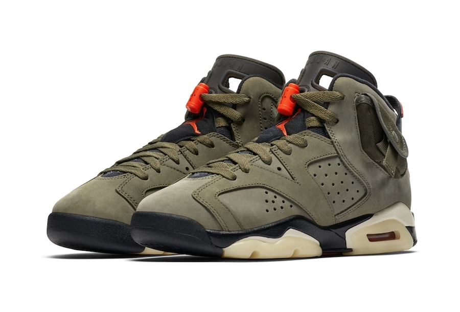 Travis Scott Air Jordan 6 GS Grade School Release Date
