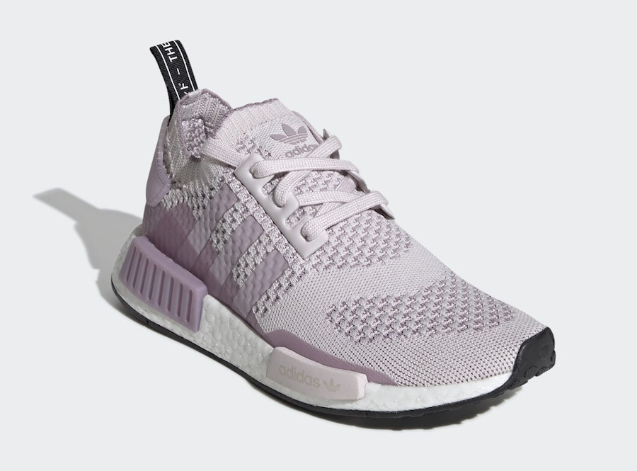 info for 5ce62 9bcf3 adidas NMD R1 Primeknit Orchid Tint EE6435 Release Date - SBD