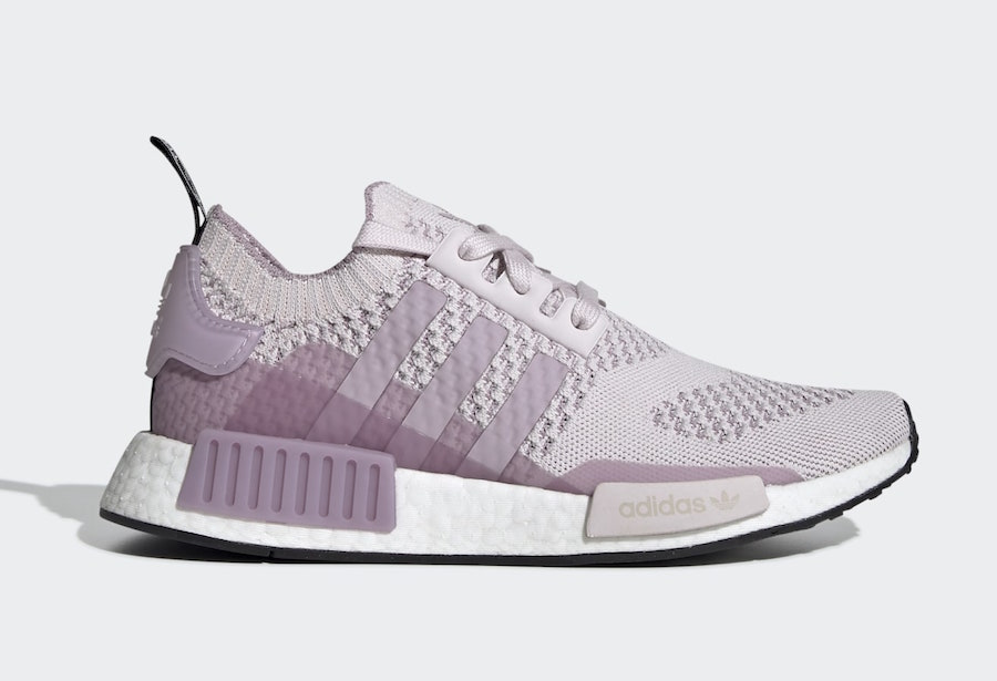 info for 17e32 dd8b3 adidas NMD R1 Primeknit Orchid Tint EE6435 Release Date - SBD