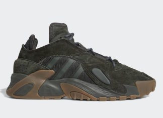 adidas Streetball Olive Gum Release Date