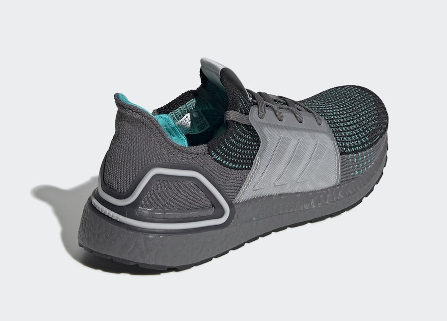 adidas Ultra Boost 2019 Black Grey Teal EF1339 Release Date