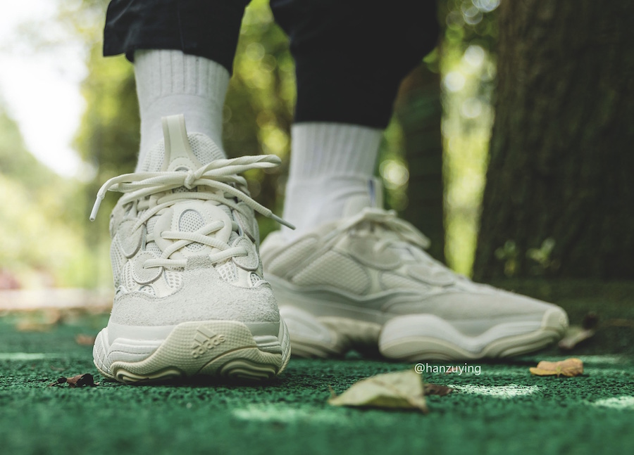 adidas Yeezy 500 Bone FV3573 On-Feet