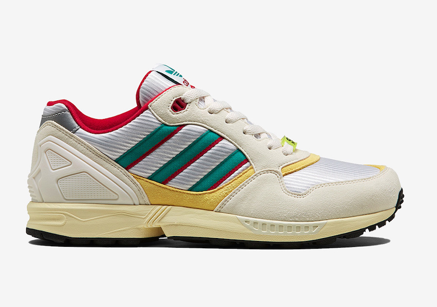 adidas ZX 6000 Creme Red Yellow FU8405 Release Date