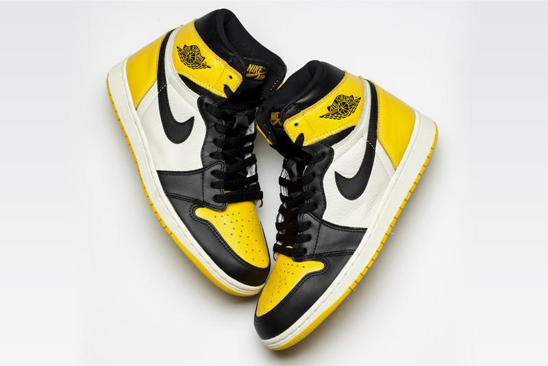 Air Jordan 1 Yellow Toe Release info