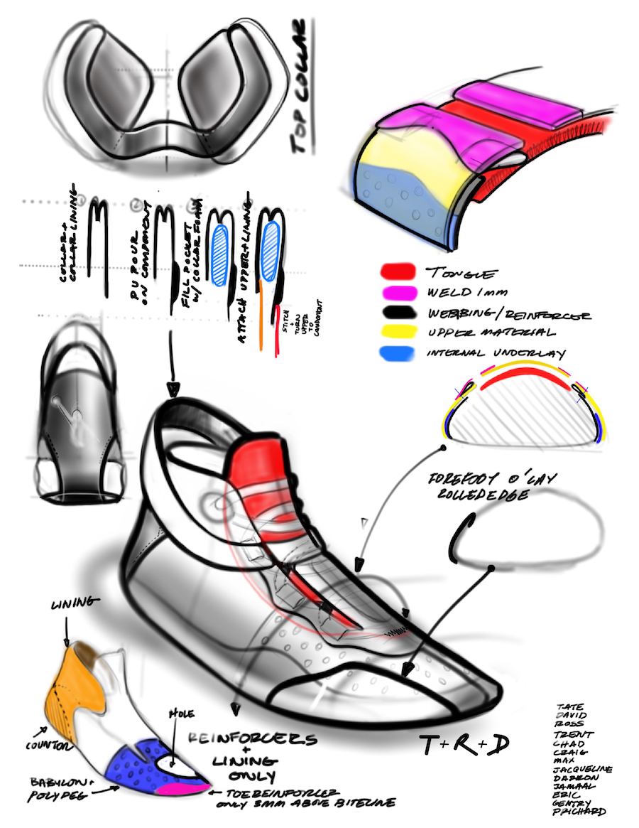 Air Jordan 34 XXXIV Sketch