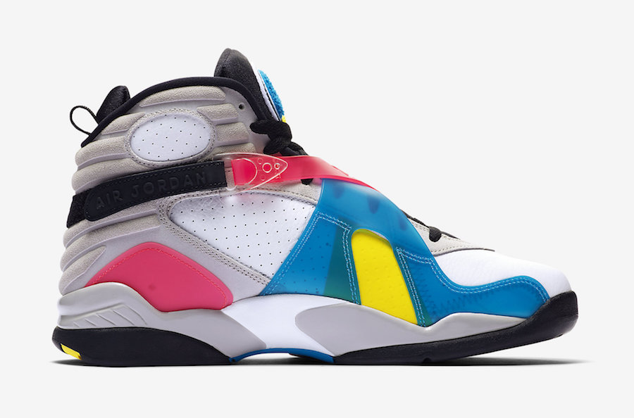 Air Jordan 8 Multi-Color BQ7666-100 Release Date