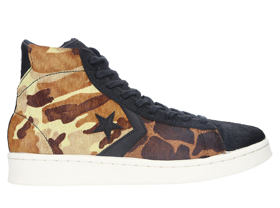 Converse Pro Leather Camo Pony Hair Release Date