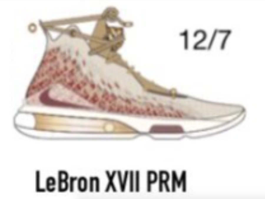 Harlem Fashion Row Nike LeBron 17 HFR Release Date First Look