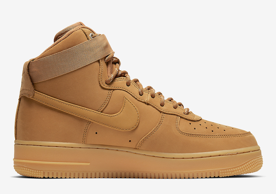 Nike Air Force 1 High Wheat Flax CJ9178-200 Release Date