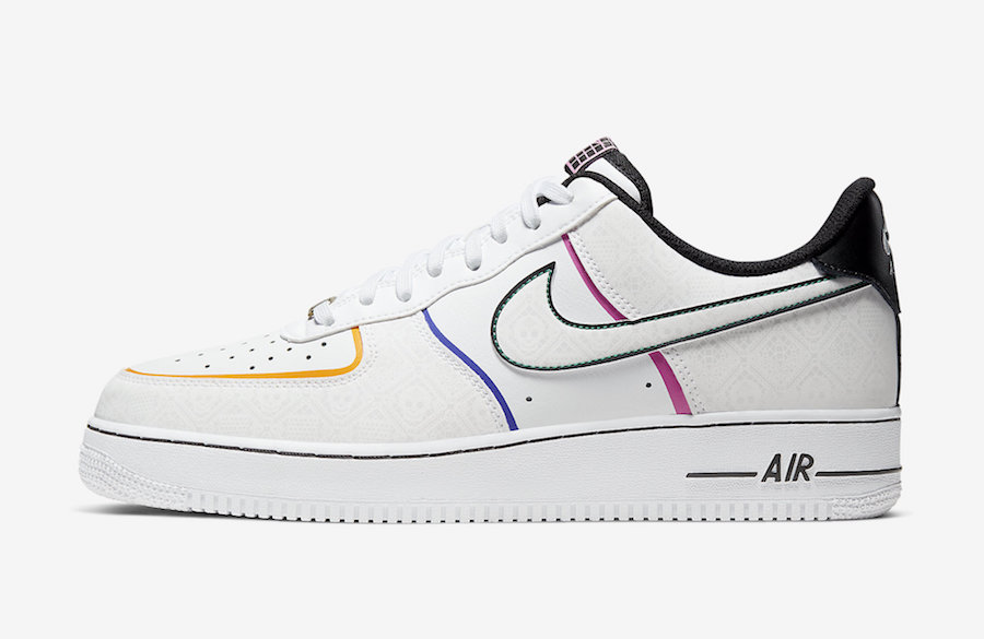 Nike Air Force 1 Low Day of the Dead CT1138-100 Release Date