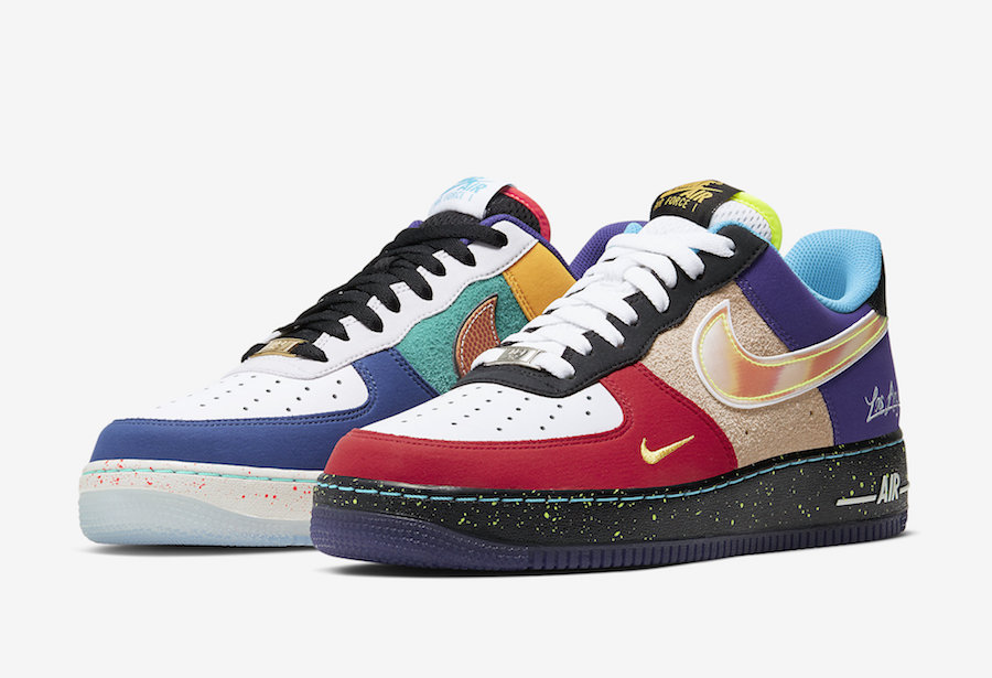 Nike Air Force 1 Low What The LA CT1117 100 Release Date SBD