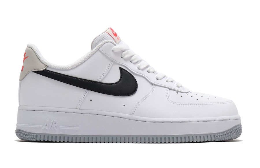 Nike Air Force 1 Low White Black Bone Ember Glow CK0806-100 Release Date