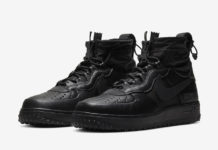 Nike Air Force 1 WTR Gore-Tex Black CQ7211-003 Release Date