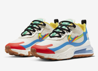 Nike Air Max 270 React Brand Heritage CT1634-100 Release Date