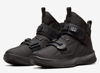 Nike LeBron Soldier 13 Black AR4225-005 Release Date