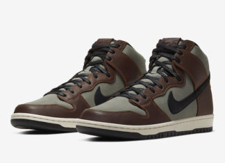 Nike SB Dunk High Pro Baroque Brown BQ6826-201 Release Date Price