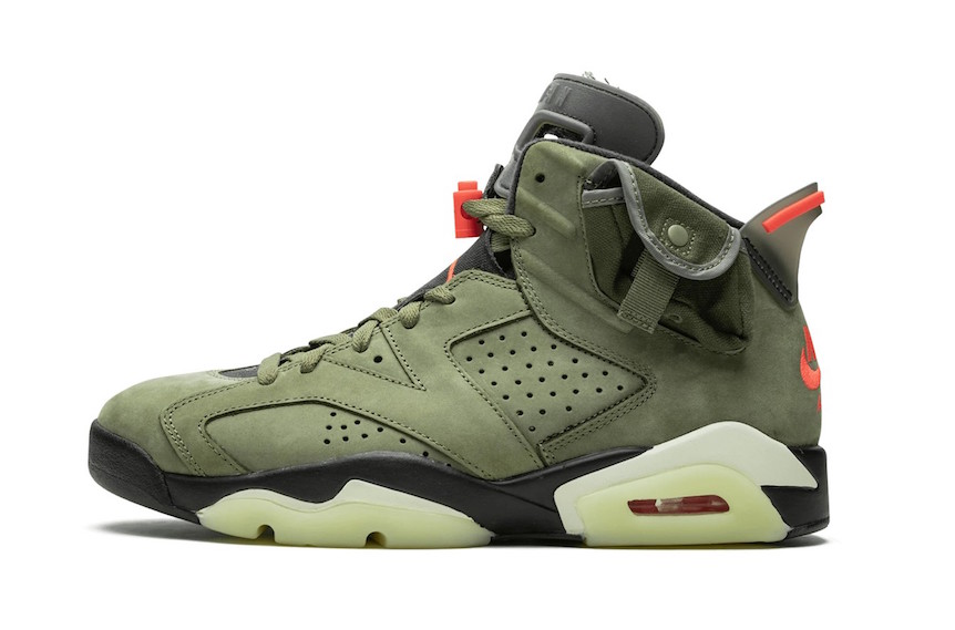 Travis Scott Air Jordan 6 2019 Release Date