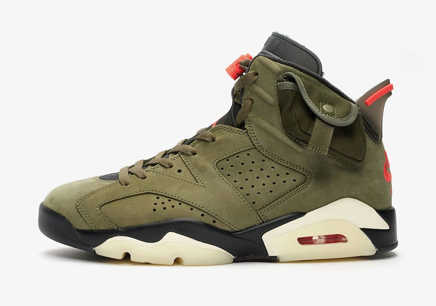 Travis Scott Air Jordan 6 CN1084-200