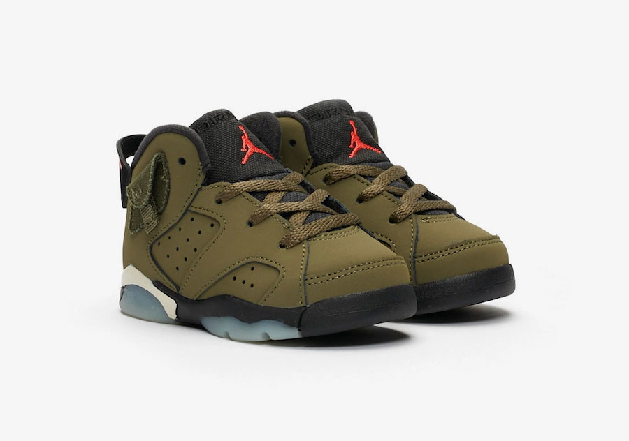 Travis Scott Air Jordan TD Toddler CQ3567-200