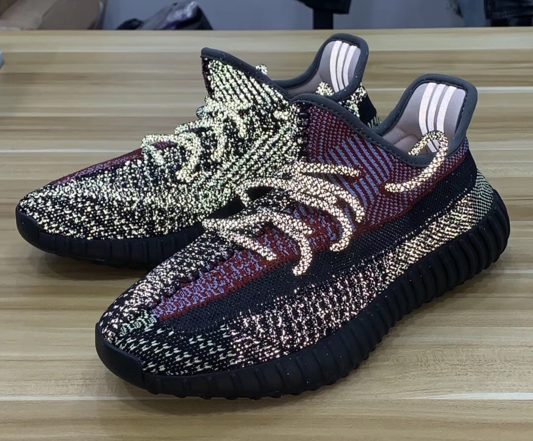 Yecheil Reflective adidas Yeezy Boost 350 V2 FW5190 Release Date