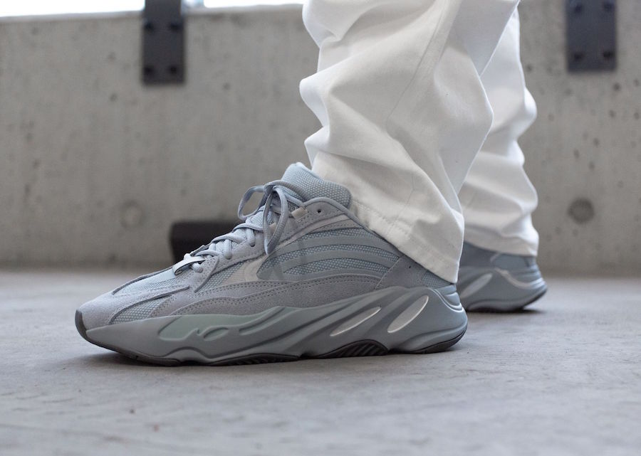 adidas Yeezy Boost 700 V2 FV8424 Hospital Blue On-Feet