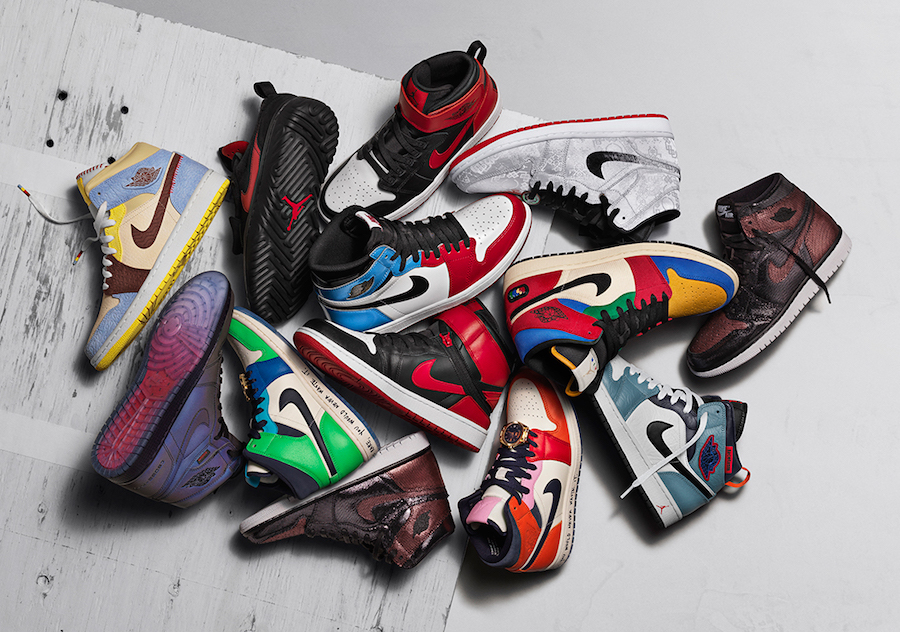 Air Jordan 1 Fearless Ones Collection Release Date