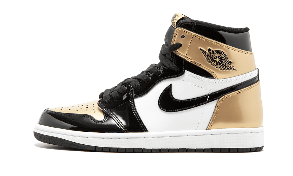 Air Jordan 1 Gold Toe 2018