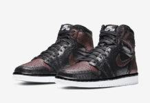 Air Jordan 1 WMNS Fearless Black Metallic Rose Gold CU6690-006 Release Date