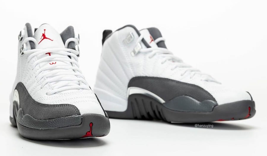 Air Jordan 12 Dark Grey 130690-160 2019 Release Date