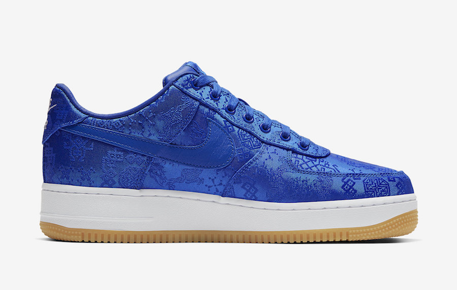 Clot Nike Air Force 1 Blue CJ5290-400 Release Date