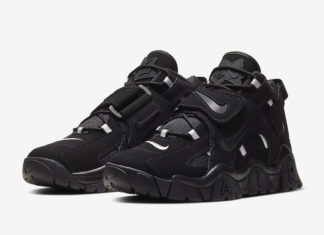 Nike Air Barrage Mid Black White AT7847-002 Release Date