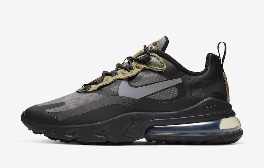 release date super cheap fashion Nike Air Max 270 React Camo CT5528-001 Release Date - SBD