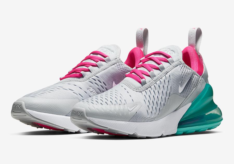 Nike Air Max 270 South Beach Ah6789 065 Release Date Sbd