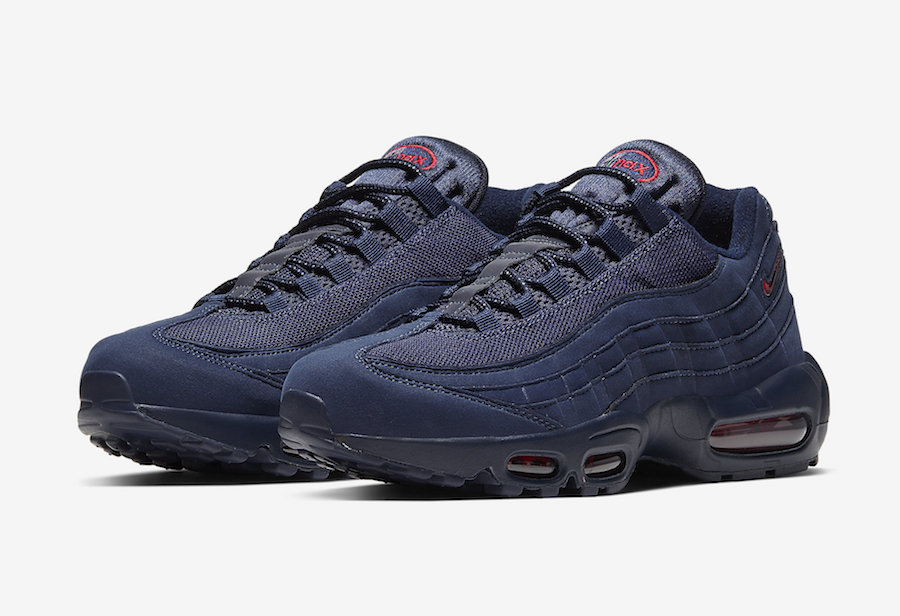 Nike Air Max 95 Navy Red CQ4024-400 Release Date