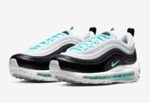 Nike Air Max 97 Pure Platinum Aurora Green Black 921733-065 Release Date