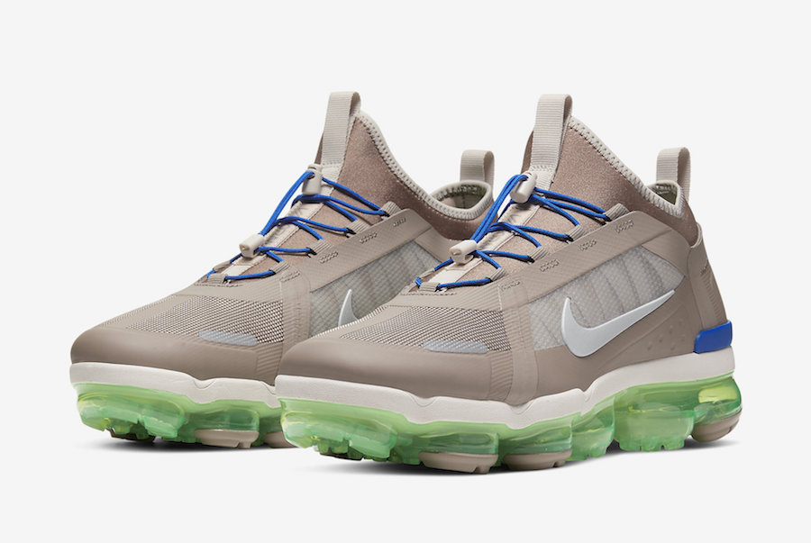 Nike Air VaporMax 2019 Utility Desert Sand Electric Green BV6351-007 Release Date