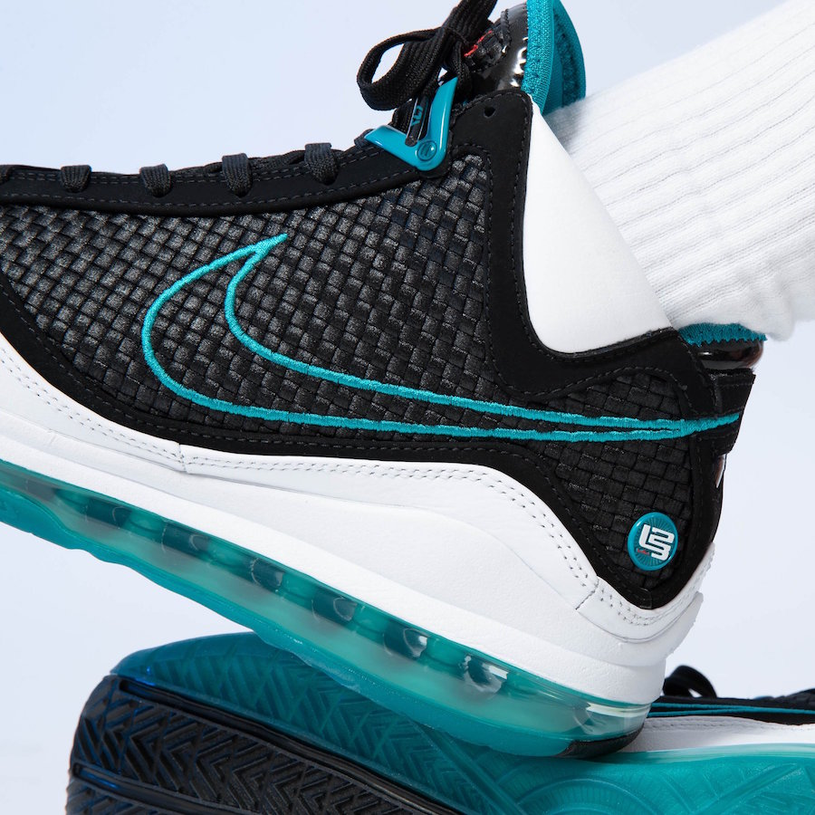 Nike LeBron 7 Red Carpet Retro CU5133-100 2019 Release Date On-Feet
