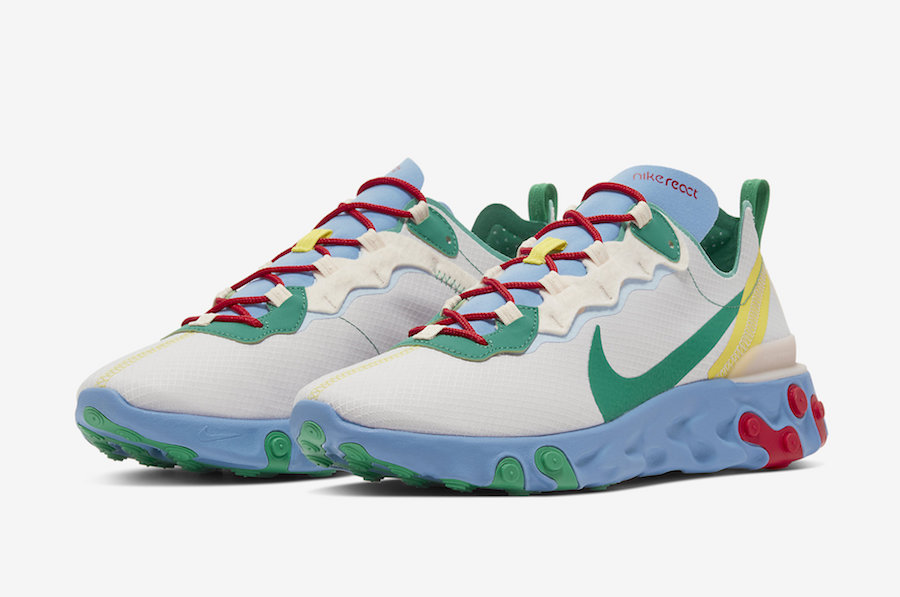 https://sneakerbardetroit.com/wp-content/uploads/2019/10/Nike-React-Element-55-SE-Guava-Ice-Lucid-Green-CT1142-800-Release-Date-1.jpg