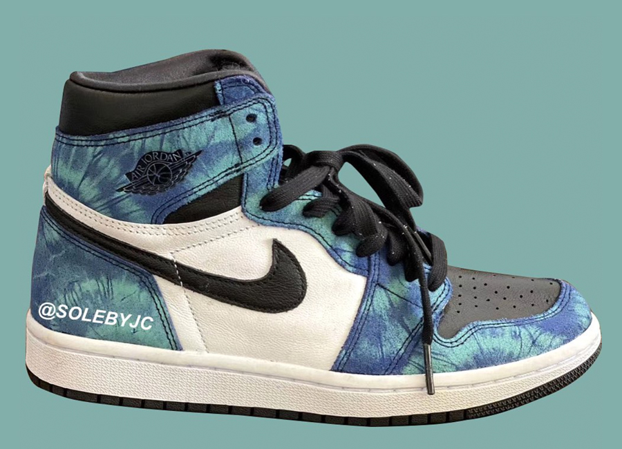 Tie-Dye Air Jordan 1 CD0461-100