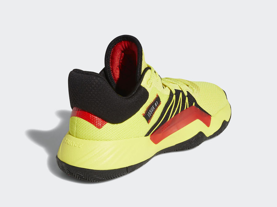adidas DON Issue 1 Shock Yellow EG5667 Release Date